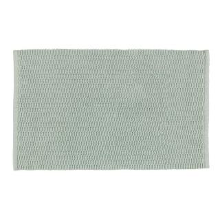Tapis de salle de bain en coton Mona - L. 50 x l. 80 cm - Vert clair