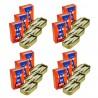 Lot 12x Petites sardines à l'huile d'olive 10/12 pièces - boîte 120g