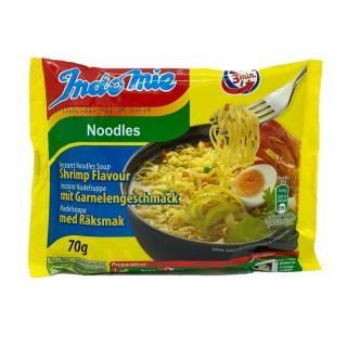 Nouilles/noodles instantanées saveur crevette - carton 40 sachets 70g