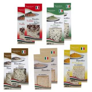 Assortiment de Risottos - Nostraterra - 10 boîtes de 250g