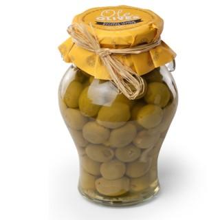 Olives Manzanilla farcies au citron - amphore 580g