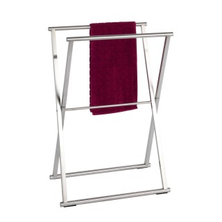 Porte-serviettes repliable en acier inox Lava