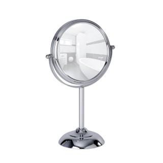 Miroir à poser Globo - grossissement x10 - Chromé