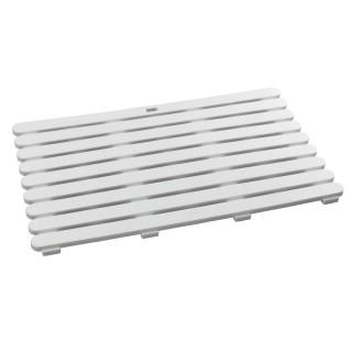 Caillebotis de baignoire - 50 x 80 cm - Blanc