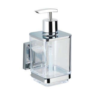 Distributeur de savon en acier inox Quadro