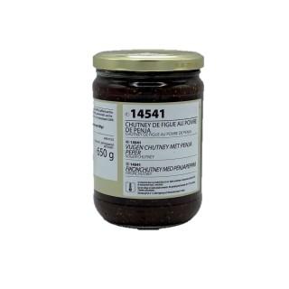 Chutney de figue au poivre penja - Maison des Gourmets - pot 650g