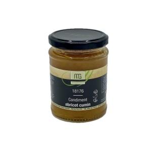 Condiment abricot cumin - Maison des Gourmets - pot 310g