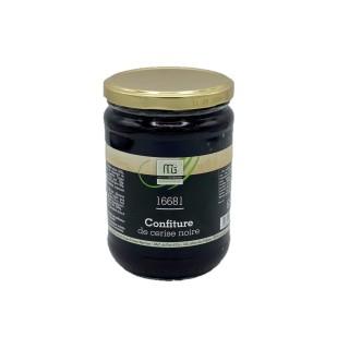 Confiture cerise noire piment d'Espelette - Maison des Gourmets - pot 650g