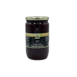 Confiture extra fraise mara des bois - Maison des Gourmets - pot 850g