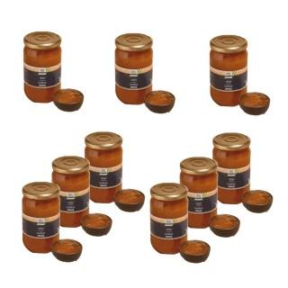 Lot 9x Confiture extra abricot - Maison des Gourmets - pot 850g