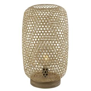 Lampadaire en bambou naturel - H. 55 cm