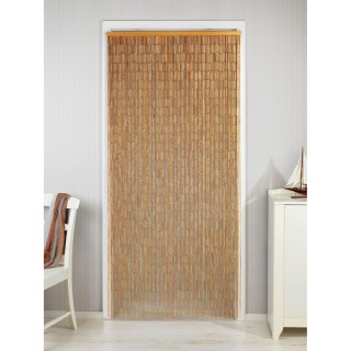Rideau de porte en bambou - Longueur 200 cm x Largeur 90 cm
